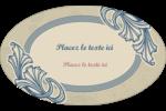Bouquet français Étiquettes carrées - gabarit prédéfini. <br/>Utilisez notre logiciel Avery Design & Print Online pour personnaliser facilement la conception.