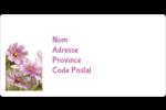 Mariage printanier rose Étiquettes d'expédition - gabarit prédéfini. <br/>Utilisez notre logiciel Avery Design & Print Online pour personnaliser facilement la conception.