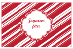 Motif de canne de bonbon Cartes Et Articles D'Artisanat Imprimables - gabarit prédéfini. <br/>Utilisez notre logiciel Avery Design & Print Online pour personnaliser facilement la conception.