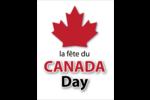 Fête du Canada Cartes Et Articles D'Artisanat Imprimables - gabarit prédéfini. <br/>Utilisez notre logiciel Avery Design & Print Online pour personnaliser facilement la conception.