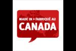 Fête du Canada Étiquettes carrées - gabarit prédéfini. <br/>Utilisez notre logiciel Avery Design & Print Online pour personnaliser facilement la conception.