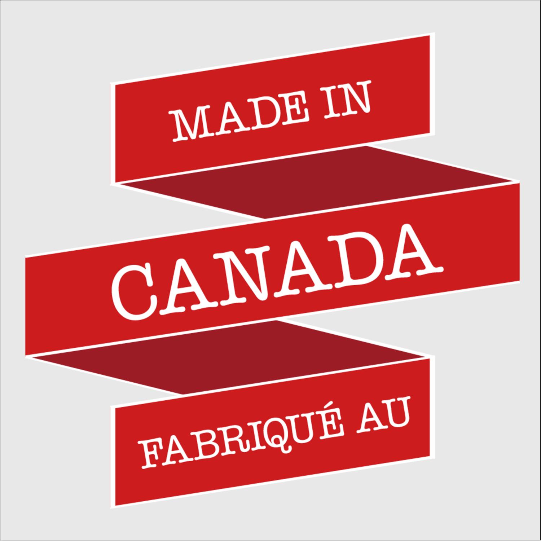 """2"""" x 2"""" Étiquettes carrées - Fête du Canada"""