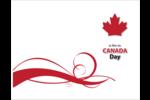 Fête du Canada Cartes de notes - gabarit prédéfini. <br/>Utilisez notre logiciel Avery Design & Print Online pour personnaliser facilement la conception.