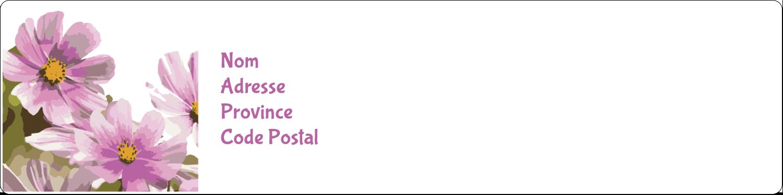 Mariage printanier rose Étiquettes d'adresse - gabarit prédéfini. <br/>Utilisez notre logiciel Avery Design & Print Online pour personnaliser facilement la conception.