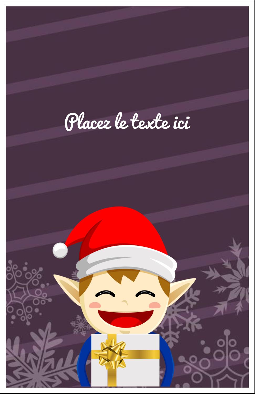 Petit Lutin de Noël Cartes Et Articles D'Artisanat Imprimables - gabarit prédéfini. <br/>Utilisez notre logiciel Avery Design & Print Online pour personnaliser facilement la conception.