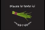 Ciboulette, épices et fines herbes sur tableau noir Étiquettes à codage couleur - gabarit prédéfini. <br/>Utilisez notre logiciel Avery Design & Print Online pour personnaliser facilement la conception.