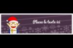 Petit Lutin de Noël Affichette - gabarit prédéfini. <br/>Utilisez notre logiciel Avery Design & Print Online pour personnaliser facilement la conception.