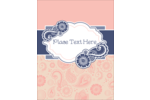 Customize personal and professional projects with pre-designed Retro Paisley templates.