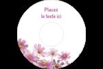Mariage printanier rose Étiquettes Pour Médias - gabarit prédéfini. <br/>Utilisez notre logiciel Avery Design & Print Online pour personnaliser facilement la conception.