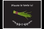 Ciboulette, épices et fines herbes sur tableau noir Badges - gabarit prédéfini. <br/>Utilisez notre logiciel Avery Design & Print Online pour personnaliser facilement la conception.