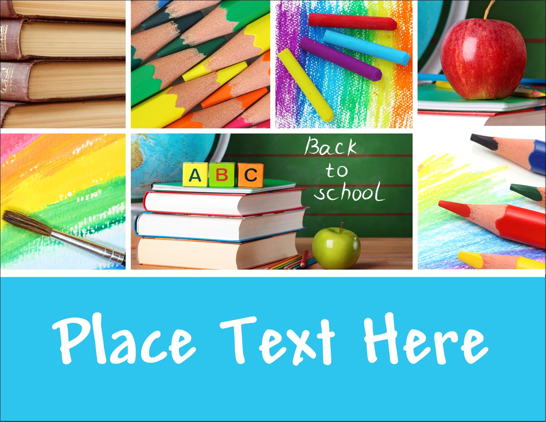 "4¼"" x 5½"" Postcard - Pencil Education"