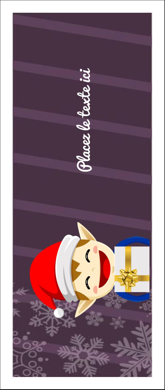 Petit Lutin de Noël Tickets - gabarit prédéfini. <br/>Utilisez notre logiciel Avery Design & Print Online pour personnaliser facilement la conception.