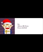 Petit Lutin de Noël Étiquettes D'Adresse - gabarit prédéfini. <br/>Utilisez notre logiciel Avery Design & Print Online pour personnaliser facilement la conception.