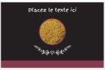 Cari, épices et fines herbes sur tableau noir Cartes Et Articles D'Artisanat Imprimables - gabarit prédéfini. <br/>Utilisez notre logiciel Avery Design & Print Online pour personnaliser facilement la conception.
