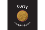 Cari, épices et fines herbes sur tableau noir Étiquettes carrées - gabarit prédéfini. <br/>Utilisez notre logiciel Avery Design & Print Online pour personnaliser facilement la conception.