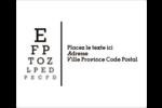 Tableau oculaire Étiquettes d'expédition - gabarit prédéfini. <br/>Utilisez notre logiciel Avery Design & Print Online pour personnaliser facilement la conception.
