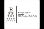 Tableau oculaire Étiquettes D'Adresse - gabarit prédéfini. <br/>Utilisez notre logiciel Avery Design & Print Online pour personnaliser facilement la conception.