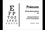 Tableau oculaire Badges - gabarit prédéfini. <br/>Utilisez notre logiciel Avery Design & Print Online pour personnaliser facilement la conception.