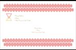 Triangles modernes pour typographie Étiquettes d'adresse - gabarit prédéfini. <br/>Utilisez notre logiciel Avery Design & Print Online pour personnaliser facilement la conception.