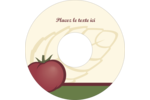 Tomate italienne Étiquettes de classement - gabarit prédéfini. <br/>Utilisez notre logiciel Avery Design & Print Online pour personnaliser facilement la conception.