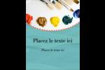 Palette de peinture Carte Postale - gabarit prédéfini. <br/>Utilisez notre logiciel Avery Design & Print Online pour personnaliser facilement la conception.