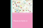 Planificateur de fêtes Carte Postale - gabarit prédéfini. <br/>Utilisez notre logiciel Avery Design & Print Online pour personnaliser facilement la conception.