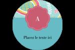 Cachemire Étiquettes rondes - gabarit prédéfini. <br/>Utilisez notre logiciel Avery Design & Print Online pour personnaliser facilement la conception.