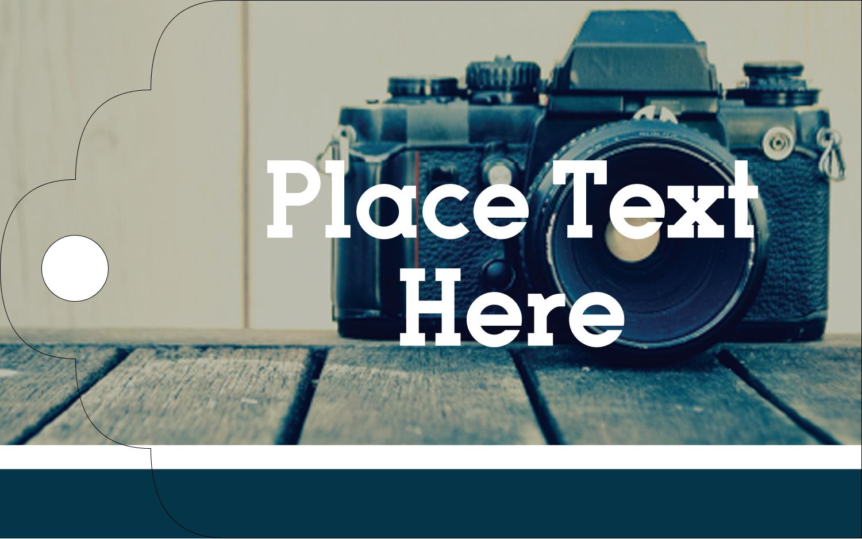 "2"" x 1⅛"" Printable Tags - Camera"