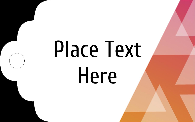 """2"""" x 1⅛"""" Printable Tags - Internal Business"""