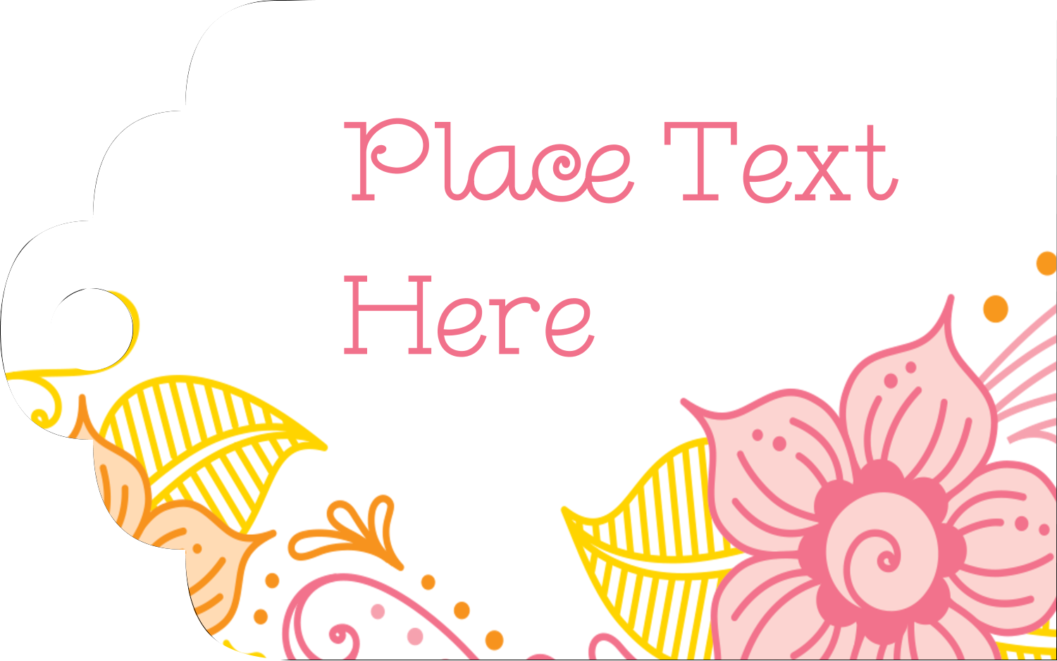 Feel that warm summer breeze with these sunny Pretty Petals Warm templates.