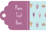 MMMMMmmm… Junk Food! Get creative with the Junk Food Pattern predesigned templates to decorate labels and cards for parties, invitations and more.