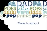 Papas du monde Étiquettes imprimables - gabarit prédéfini. <br/>Utilisez notre logiciel Avery Design & Print Online pour personnaliser facilement la conception.