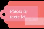 Traitement rose Étiquettes imprimables - gabarit prédéfini. <br/>Utilisez notre logiciel Avery Design & Print Online pour personnaliser facilement la conception.