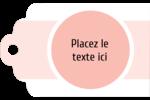 Traitement Sphère rose Étiquettes imprimables - gabarit prédéfini. <br/>Utilisez notre logiciel Avery Design & Print Online pour personnaliser facilement la conception.