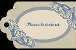 Bouquet français Étiquettes imprimables - gabarit prédéfini. <br/>Utilisez notre logiciel Avery Design & Print Online pour personnaliser facilement la conception.