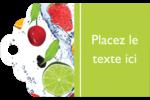 Fruits frais Étiquettes imprimables - gabarit prédéfini. <br/>Utilisez notre logiciel Avery Design & Print Online pour personnaliser facilement la conception.