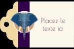 Éléphant géométrique Étiquettes imprimables - gabarit prédéfini. <br/>Utilisez notre logiciel Avery Design & Print Online pour personnaliser facilement la conception.