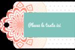 Napperon géométrique Étiquettes imprimables - gabarit prédéfini. <br/>Utilisez notre logiciel Avery Design & Print Online pour personnaliser facilement la conception.