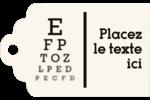Tableau oculaire Étiquettes imprimables - gabarit prédéfini. <br/>Utilisez notre logiciel Avery Design & Print Online pour personnaliser facilement la conception.