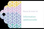 Beauté géométrique Étiquettes imprimables - gabarit prédéfini. <br/>Utilisez notre logiciel Avery Design & Print Online pour personnaliser facilement la conception.