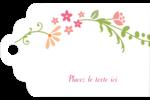 Floraison du printemps Étiquettes imprimables - gabarit prédéfini. <br/>Utilisez notre logiciel Avery Design & Print Online pour personnaliser facilement la conception.