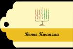 Kinara de Kwanzaa Étiquettes imprimables - gabarit prédéfini. <br/>Utilisez notre logiciel Avery Design & Print Online pour personnaliser facilement la conception.