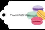 Macarons français Étiquettes imprimables - gabarit prédéfini. <br/>Utilisez notre logiciel Avery Design & Print Online pour personnaliser facilement la conception.