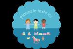 Éducation et préscolaire Étiquettes rondes - gabarit prédéfini. <br/>Utilisez notre logiciel Avery Design & Print Online pour personnaliser facilement la conception.