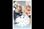 Les gabarits Flocon de neige bleu pour votre prochain projet des Fêtes Reliures - gabarit prédéfini. <br/>Utilisez notre logiciel Avery Design & Print Online pour personnaliser facilement la conception.