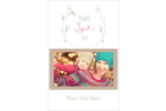 Add seasonal well wishes to custom projects with pre-designed Peace Love Joy templates.