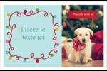 Les gabarits Lumières de Noël pour votre prochain projet des Fêtes Cartes de souhaits pliées en deux - gabarit prédéfini. <br/>Utilisez notre logiciel Avery Design & Print Online pour personnaliser facilement la conception.