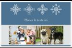 Les gabarits Flocons de neige pour votre prochain projet des Fêtes Cartes de souhaits pliées en deux - gabarit prédéfini. <br/>Utilisez notre logiciel Avery Design & Print Online pour personnaliser facilement la conception.
