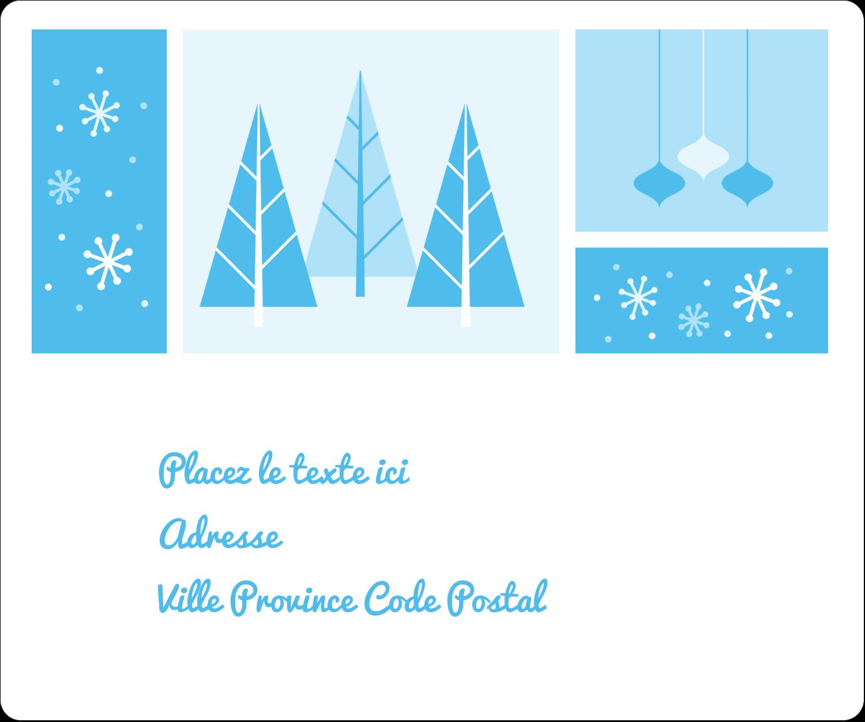 """½"""" x 1¾"""" Étiquettes D'Adresse - Les gabarits Pays des merveilles hivernales rétro pour votre prochain projet créatif"""