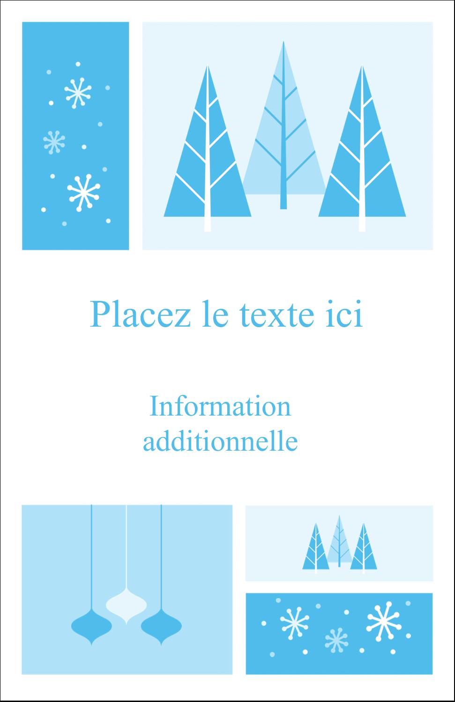 """8½"""" x 11"""" Binder Insert Reliures - Les gabarits Pays des merveilles hivernales rétro pour votre prochain projet créatif"""